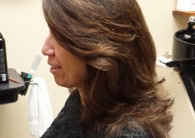 Corrective hair colors