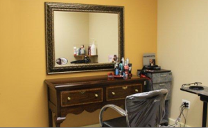 private wig fitting rooms